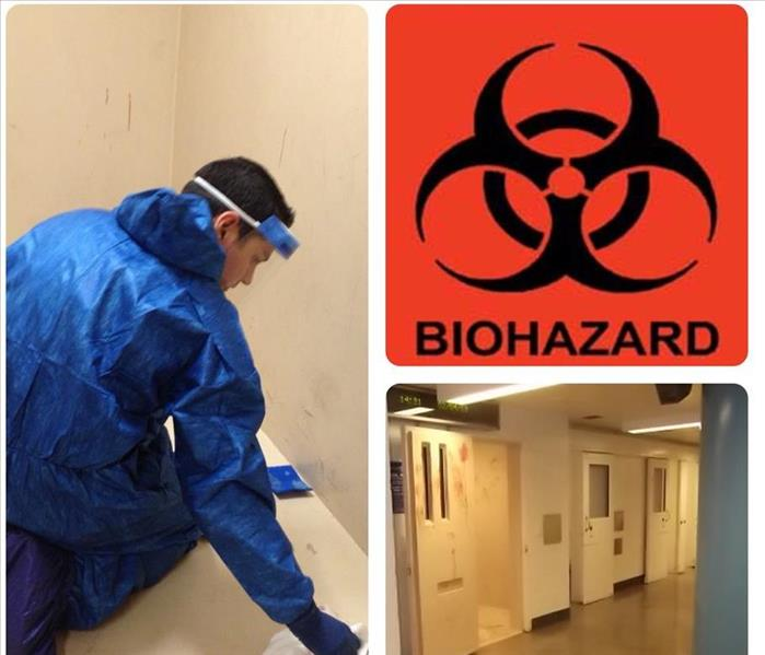 Biohazard Cleanup  Before