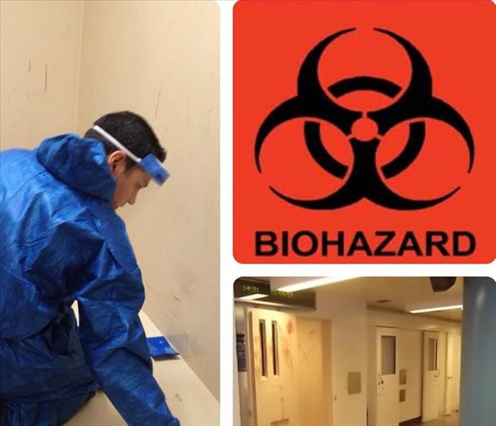 Biohazard Cleanup  After