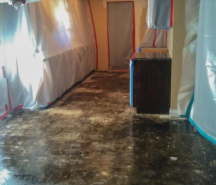 Flooded Residence Restoration Before