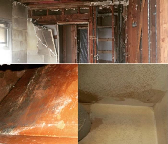 Water Damage in Los Angeles CA Before