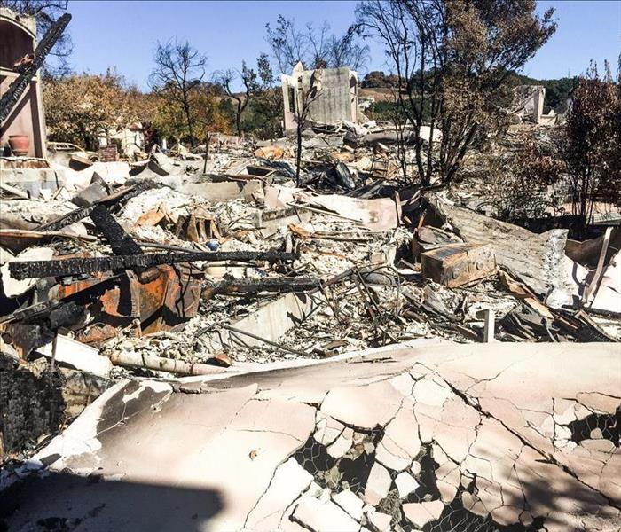 Northern California Neighborhood Devastated