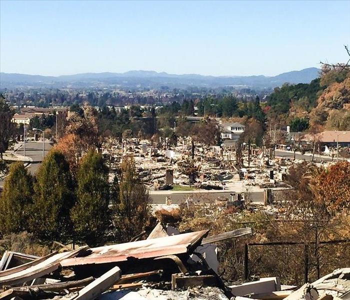 Northern California Fire Aftermath