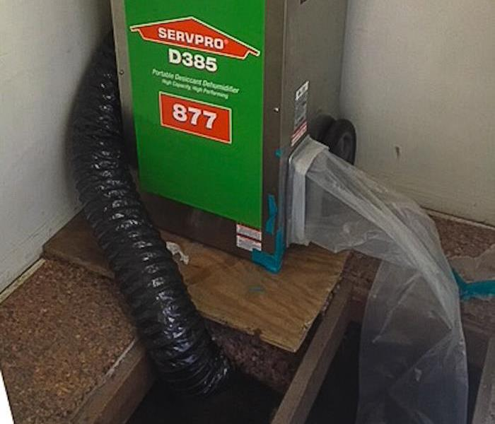 Desiccant Machine in SoCal Home