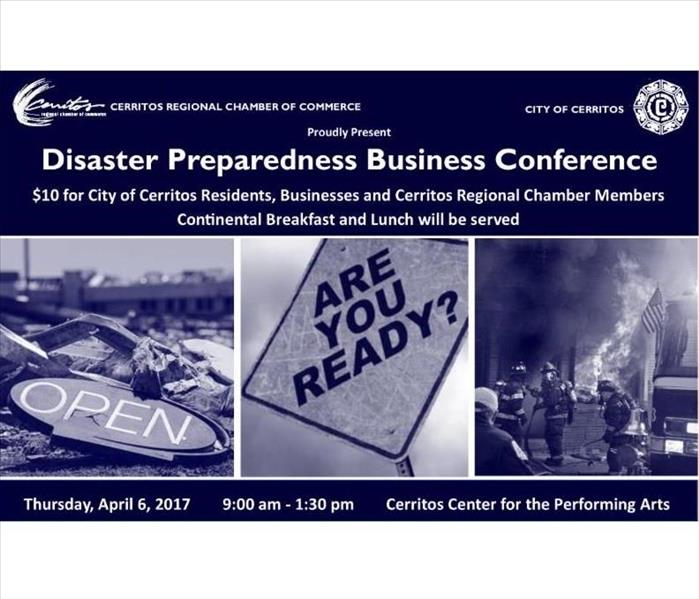 Community Disaster Preparedness Business Conference